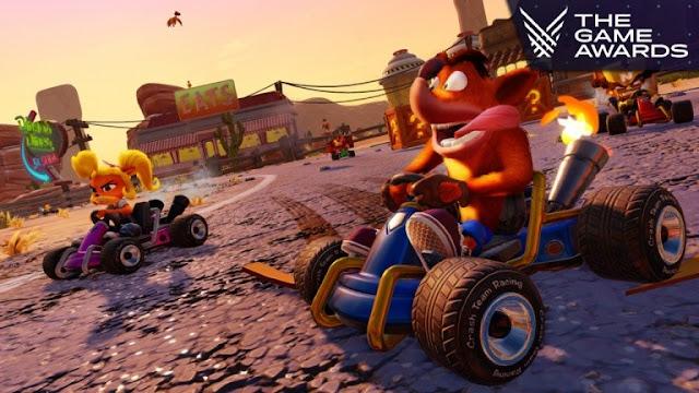 الإعلان رسميا عن لعبة Crash Team Racing Nitro-Fueled و ريميك كامل على جميع الأجهزة ..