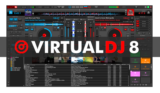 Virtual DJ Pro 8 Build 2191 Full Patch Terbaru