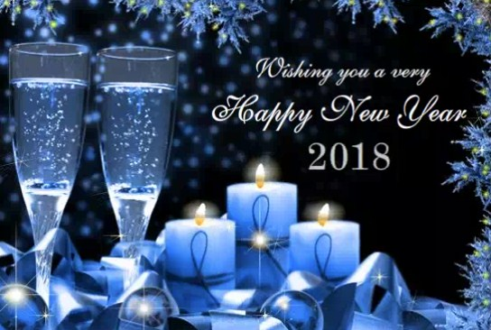 new year wishes for gf 2018