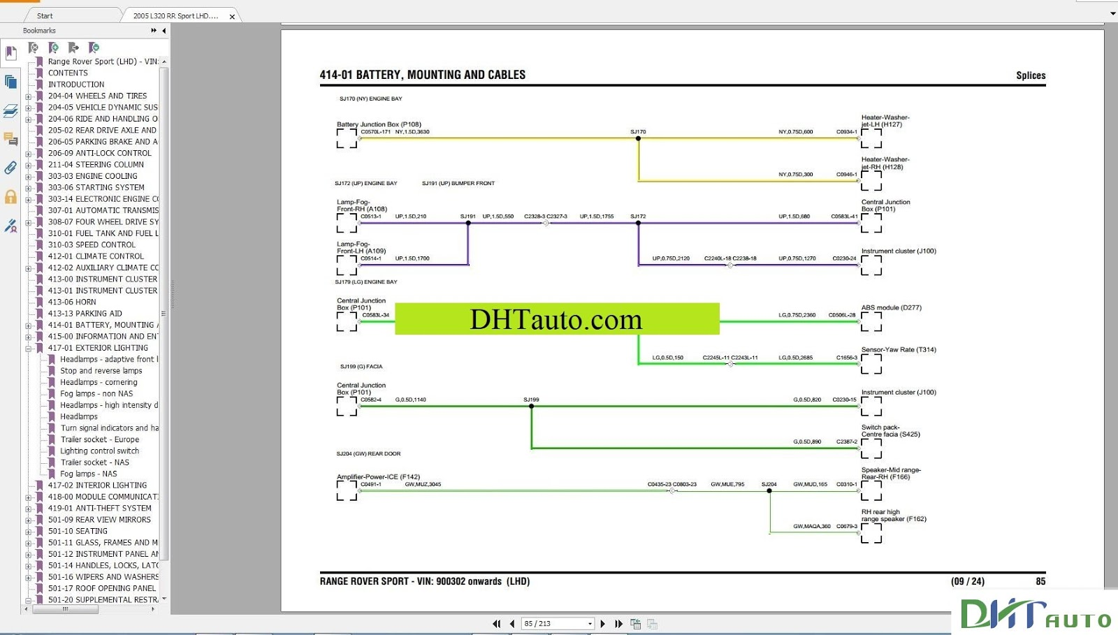 Land Rover Range Electrical Wiring Diagram Full 1995 2015 Freelander Abs Link Download