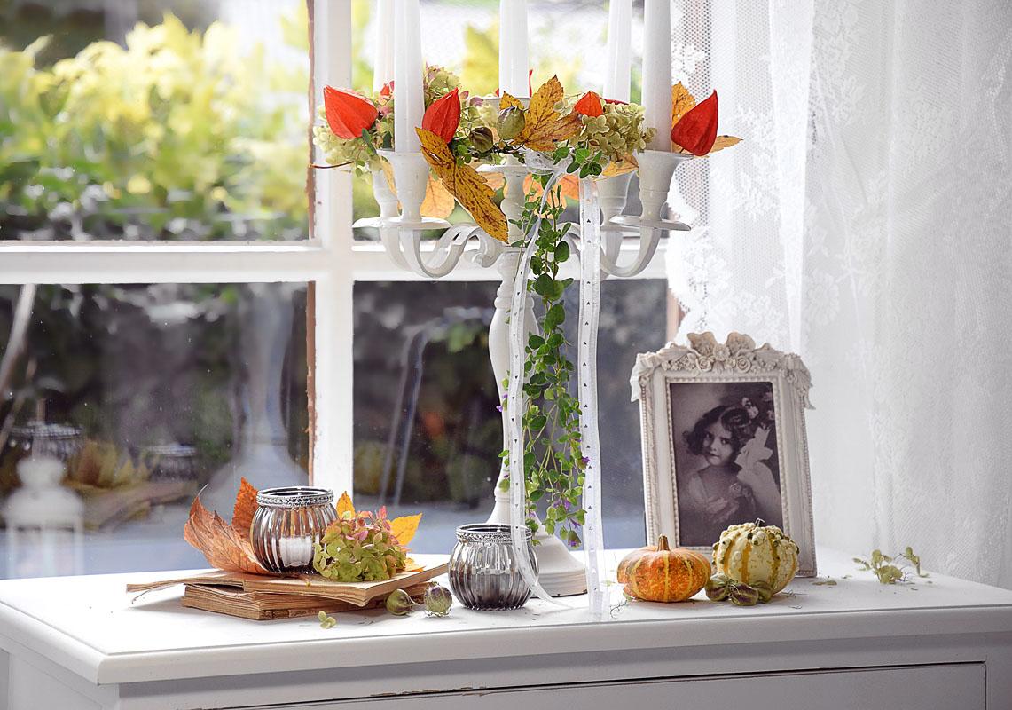 Herbstdekoideen zum Selbermachen.
