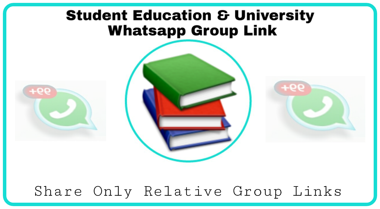 Student & university whatsapp group link - Group Links