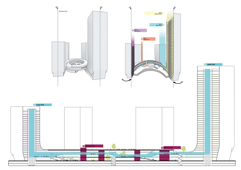 Section drawing details
