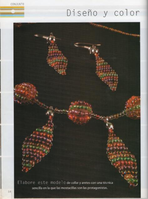REVISTA DE BISUTERÍA con perlas y chaquiras para descargar gratis