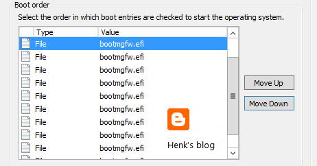 Henk's blog: Clearing Duplicate Firmware Objects in UEFI