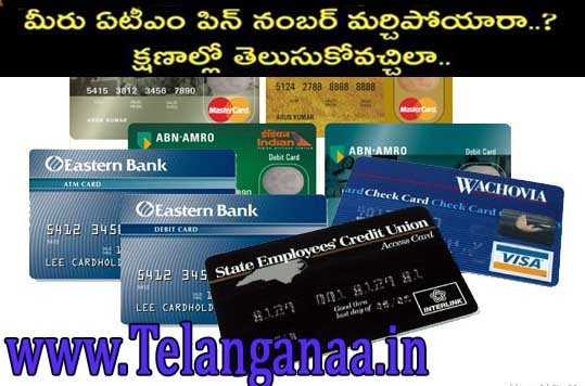 ATM Card Pin Reset Online All Debit Cards