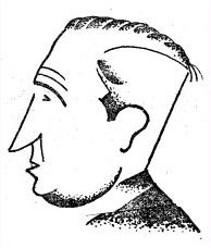 Caricatura de Manuel Golmayo