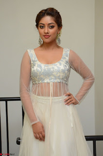 Anu Emmanuel in a Transparent White Choli Cream Ghagra Stunning Pics 019.JPG