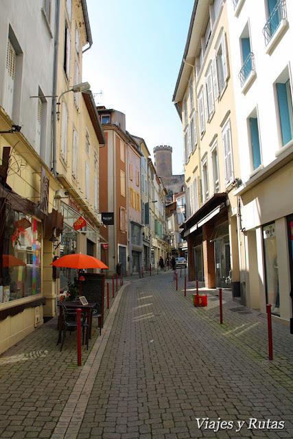 Foix, Midi Pirenees, Francia