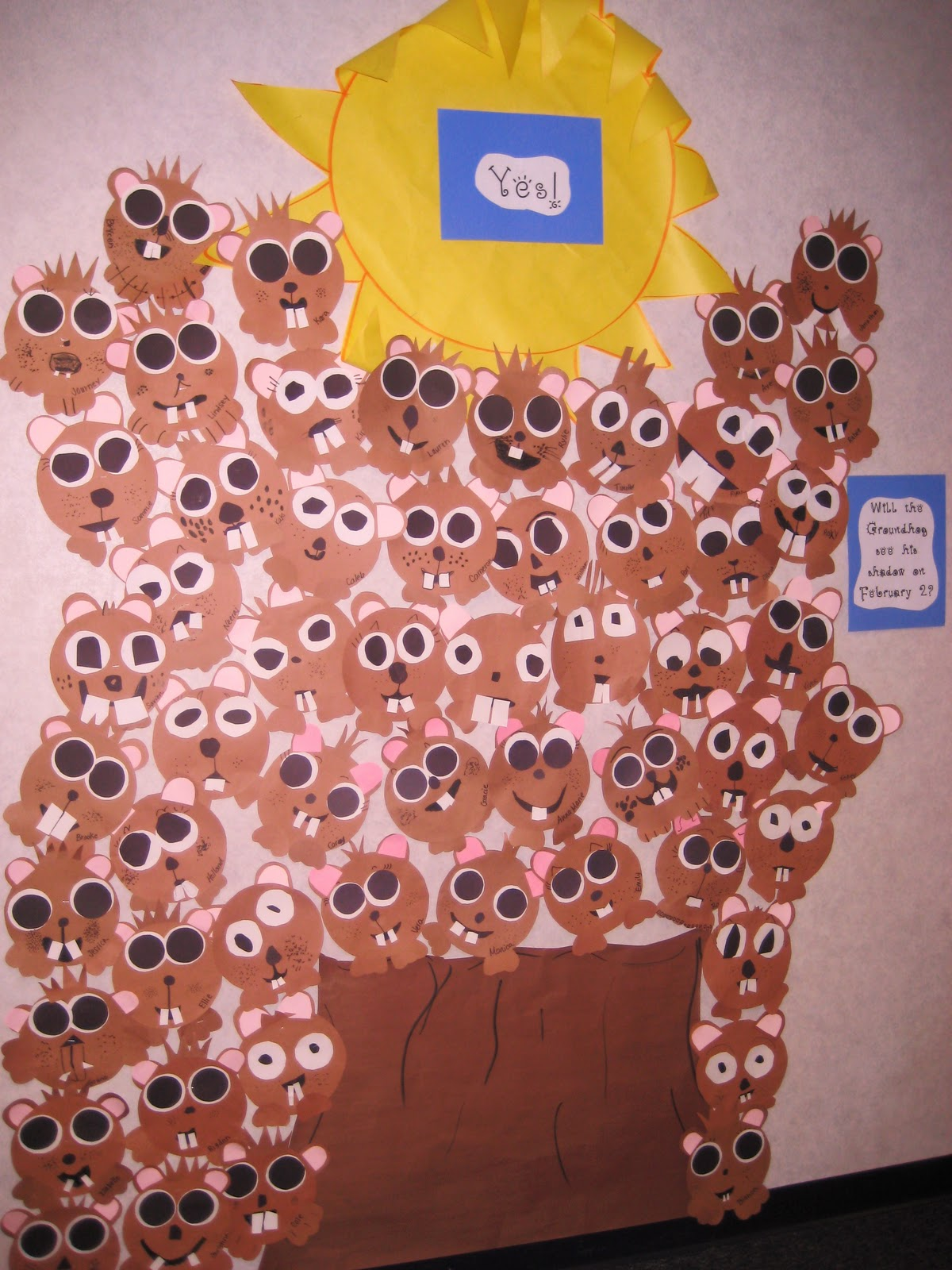 First Grade Wow Groundhog Day