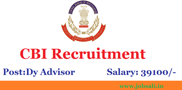 CBI Job vacancy, CBI Notification, Latest Government jobs