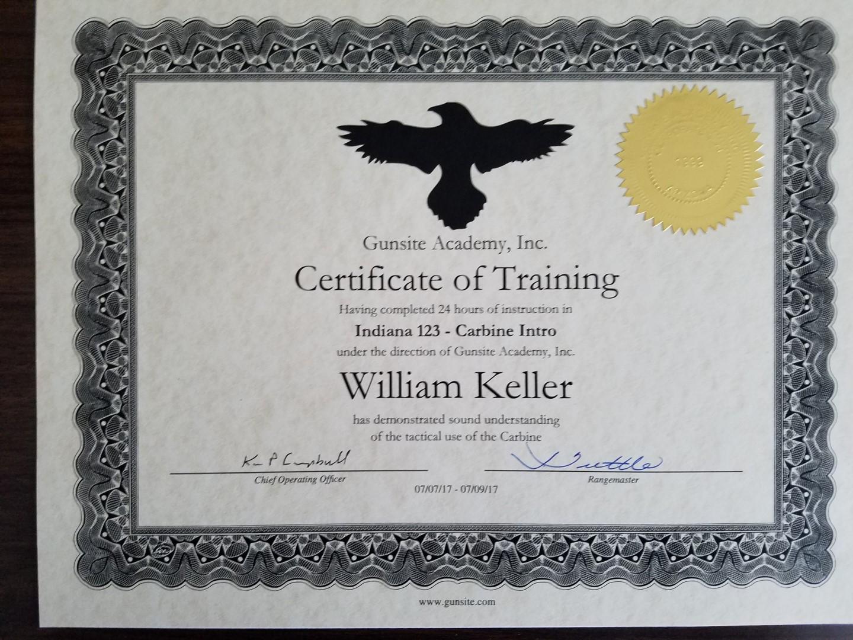 e IA f t  Eastern Iowa Firearms Training: Review – AAR
