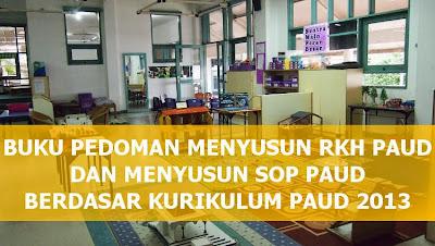 Download Buku Panduan Menyusun Kegiatan Harian RKH PAUD Kurikulum PAUD 2013 Menyusun SOP PAUD Kurikulum 2013