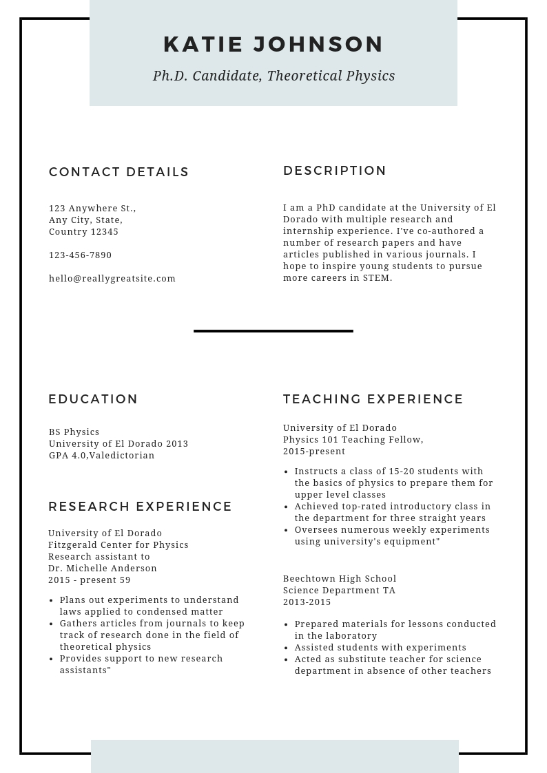 format of resume   how to make resume for freshers
