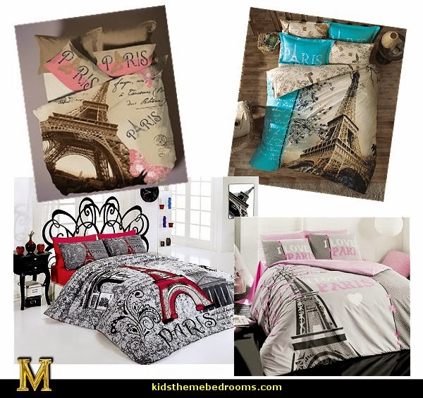 Decorating theme bedrooms - Maries Manor: paris bedroom ideas