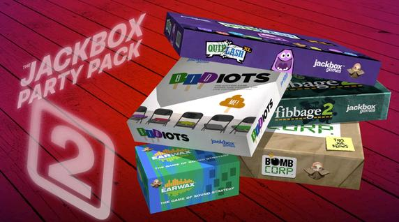 Jackbox Party Pack 1 and 2 will arrive soon on Nintendo Switch