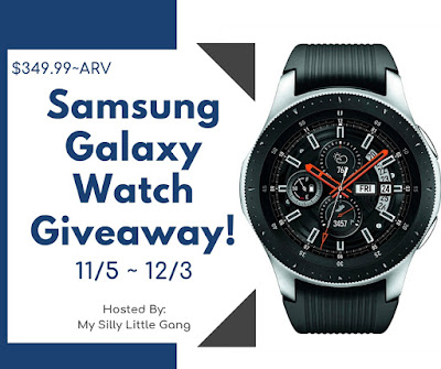 Samsung Galaxy Watch Giveaway