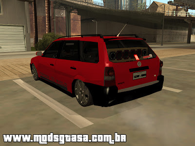 Vw Parati G4 Track & Field Edit para GTA San Andreas