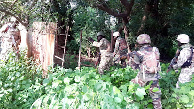 NIGERIAN ARMY RECOVERS CORPSES OF 16 MISSING SOLDIERS