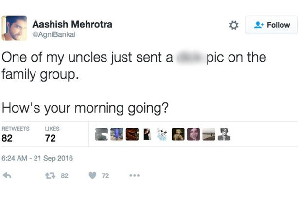 Family members scamper as dad accidentally uploads nude in Whatsapp group