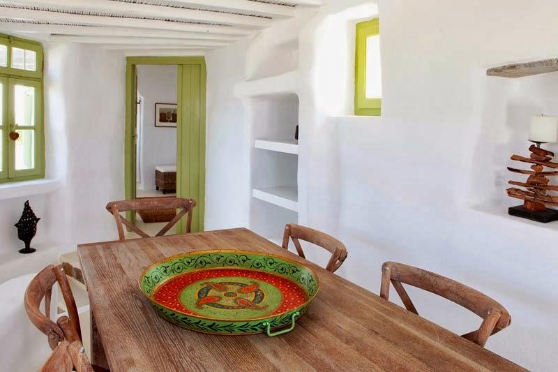 Ιδέες διακόσμησης από σπίτι στη Μύκονο