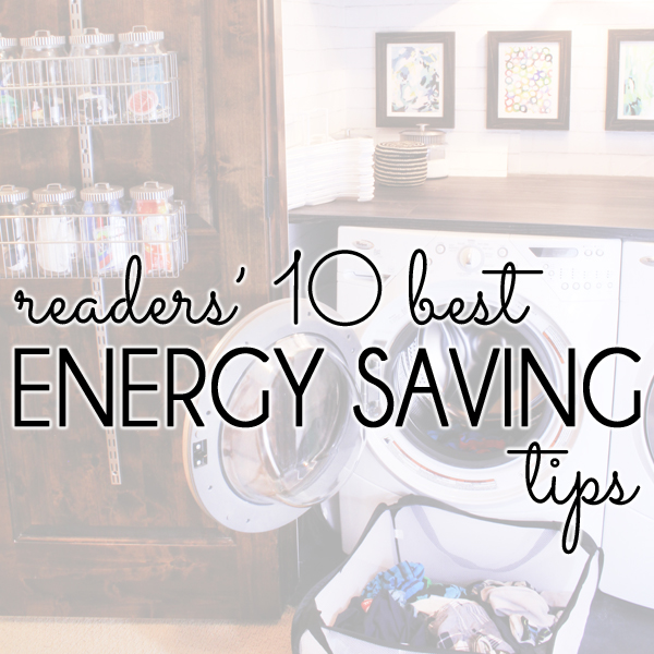 10 Best Energy Saving Tips