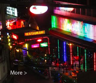 Bangkok chic bar at sukhumvit