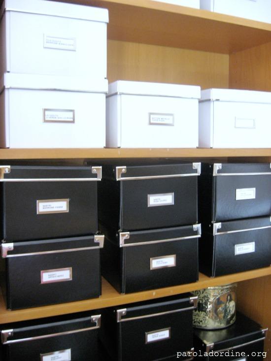 paroladordine-siorganizza-stanzadellacreatività-scatole
