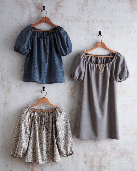 volksfaden: diy top & dress, diy oberteil & kleid