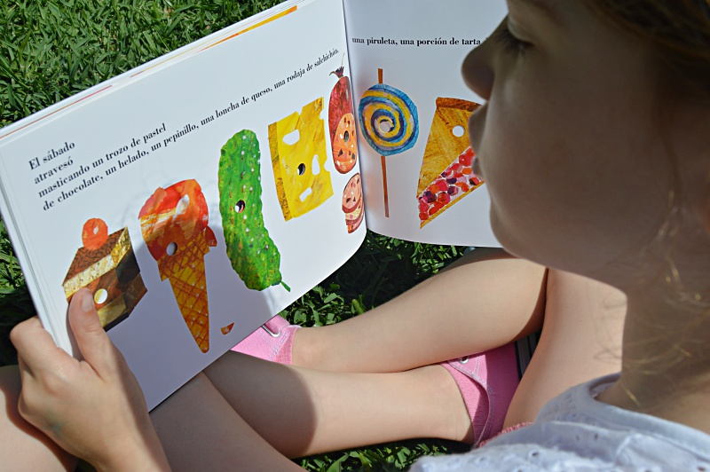 eric carle album ilustrado cuento infantil hoy leemos