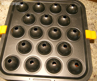 Michelle Paige Blogs Cake Pops In A Pan