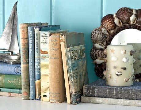 vintage sailing books