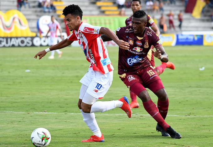 DEPORTES TOLIMA: Por su segunda victoria ante Junior en el Murillo Toro desde 2014