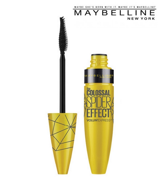 Nouveauté mascara The Colossal Spider Effect - Maybelline New York - Blog beauté Les Mousquetettes