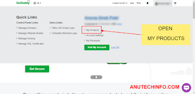 how to redirect a domain to another website in hindi