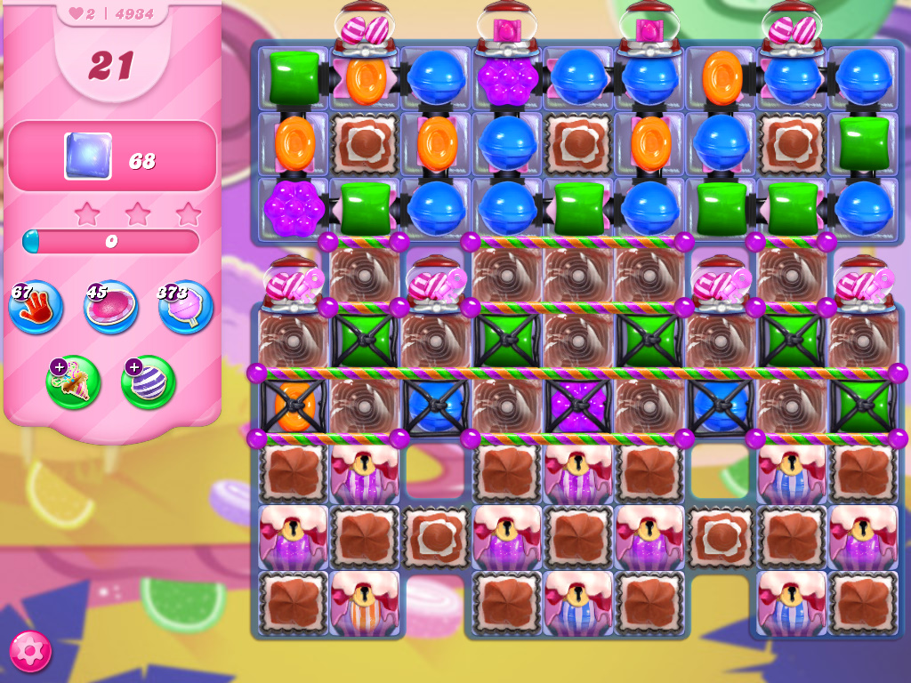 Candy Crush Saga level 4934