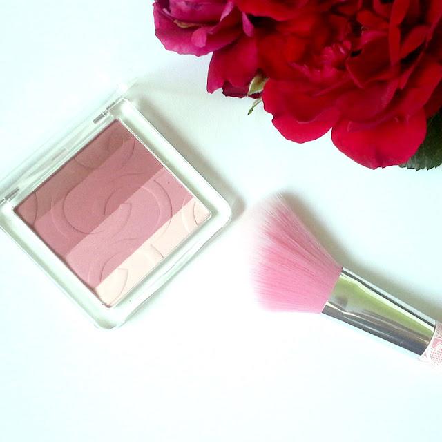 Catrice multi mat blush la-lavender essence blush brush