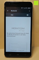"Bluetooth aus: HOMTOM HT30 3G Smartphone 5.5""Android 6.0 MT6580 Quad Core 1.3GHz Mobile Phone 1GB RAM 8GB ROM Smart Gestures Wake Gestures Dual SIM OTA GPS WIFI,Weiß"