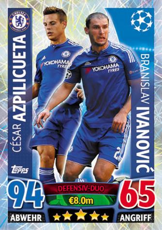 491-Eran Zahavi-Matchwinner Topps Ligue des Champions