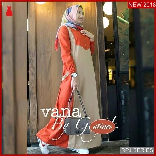 RPJ170D147 Model Dress Vana Cantik Dress Wanita