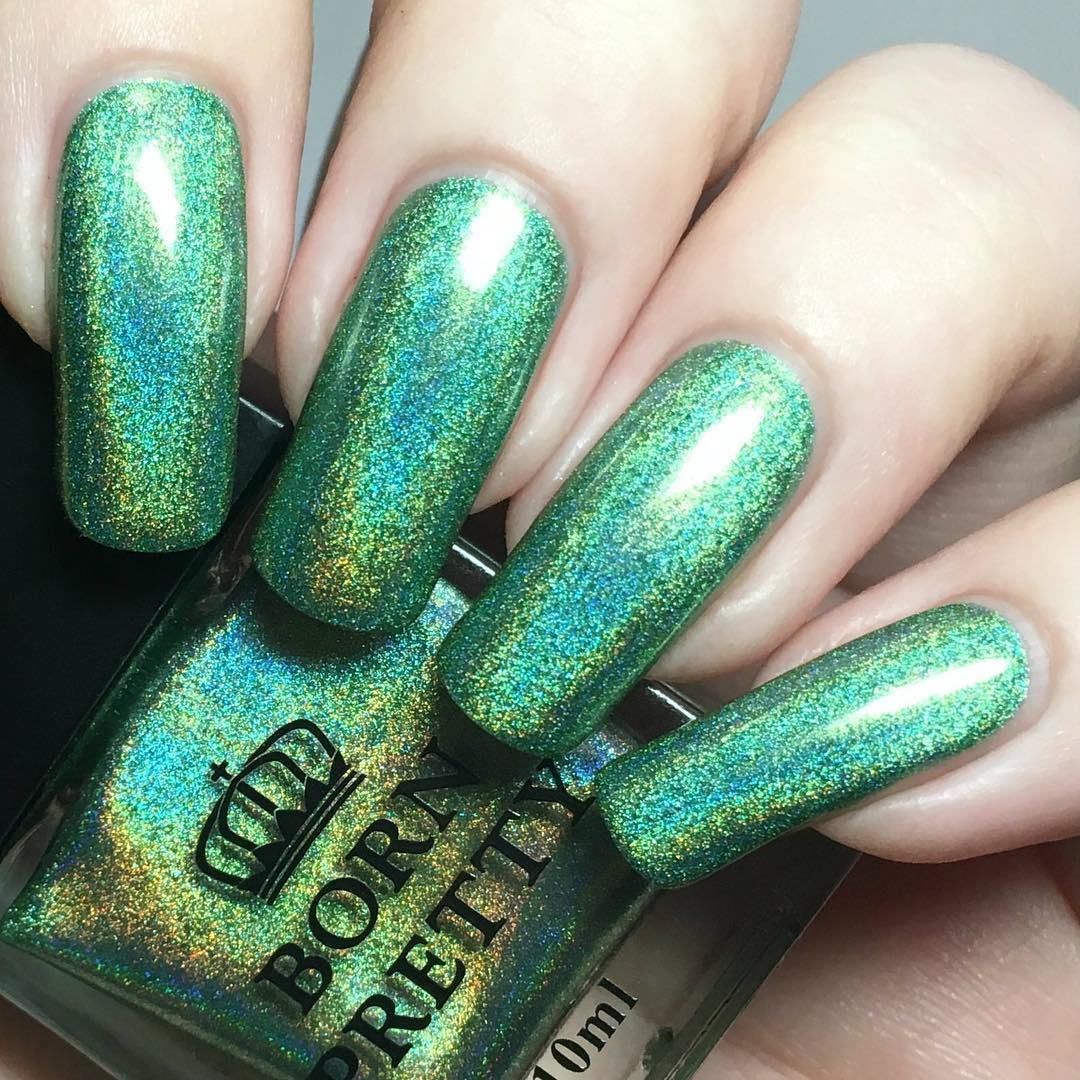 Born Pretty Store Blog: Holographic Nail Polish Design and Tutorial ...