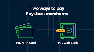 paystack pay with bank option for online payment in nigeria