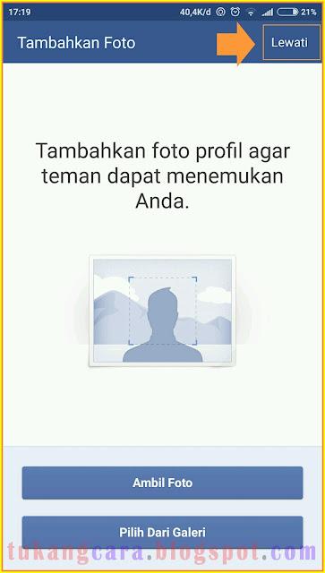 Buat Akun Facebook Baru Lewat HP