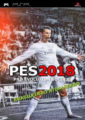 PES 2018 com Brasileirão Atualizado (PSP) Agosto 2017