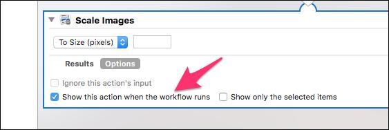 كيفية تغيير حجم مجموعة الصور دفعة واحدة على ماك بستخدم Automator