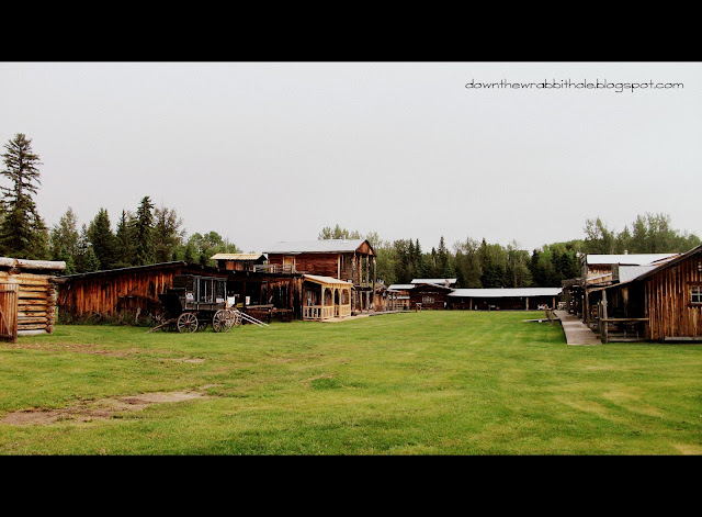 Old West ghost town Alberta EM-TE Town