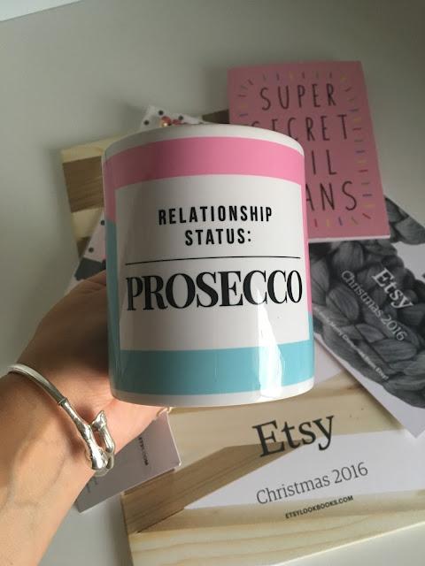 Prosecco mug etsy