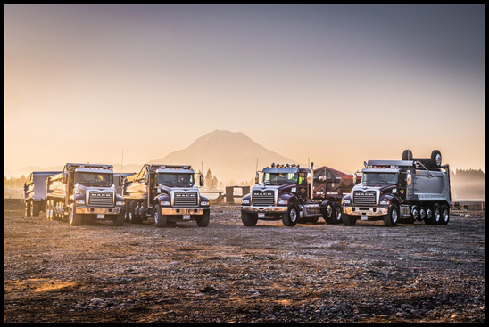 Mack Trucks of Silver Streak Trucking