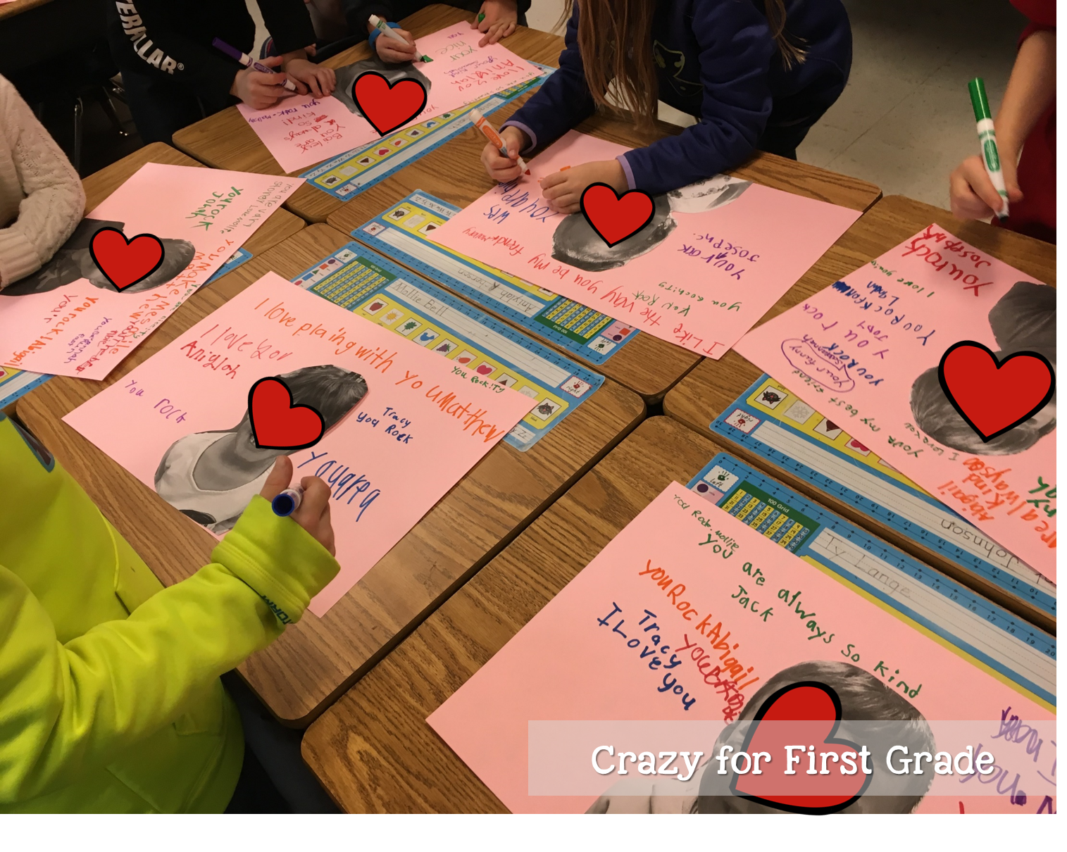 Valentine's Day Activities   Crazy for First Grade [ 1210 x 1515 Pixel ]
