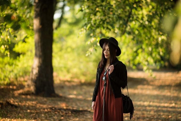 styl boho blogerka jesień
